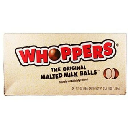 Product Of Whoppers, Malted Milk Balls, Count 24 (1.75 oz) - Chocolate Candy / Grab Varieties & Flavors