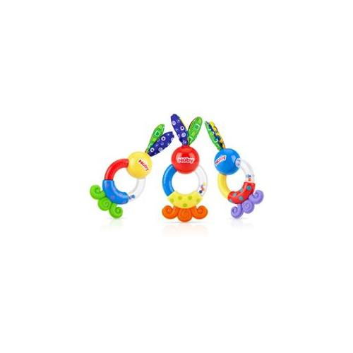 Rattle Teether Case Pack 72 by DOBA Kids Toy