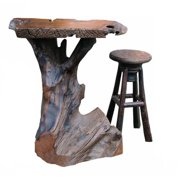 "Groovystuff TF-0641 31"" x 30"" x 41"" Diablo Pub Table by Pub Tables"