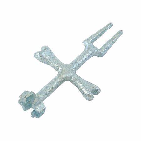 Ez-Flo 45117 P.O. Plug and Closet Spud Wrench ()