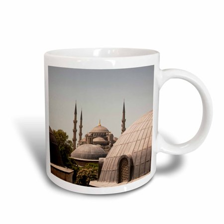 (3dRose Sultanahmet Mosque, also known as the Blue Mosque and Sultan Ahmed Mosque, Istanbul, Turkey, Ceramic Mug, 11-ounce)
