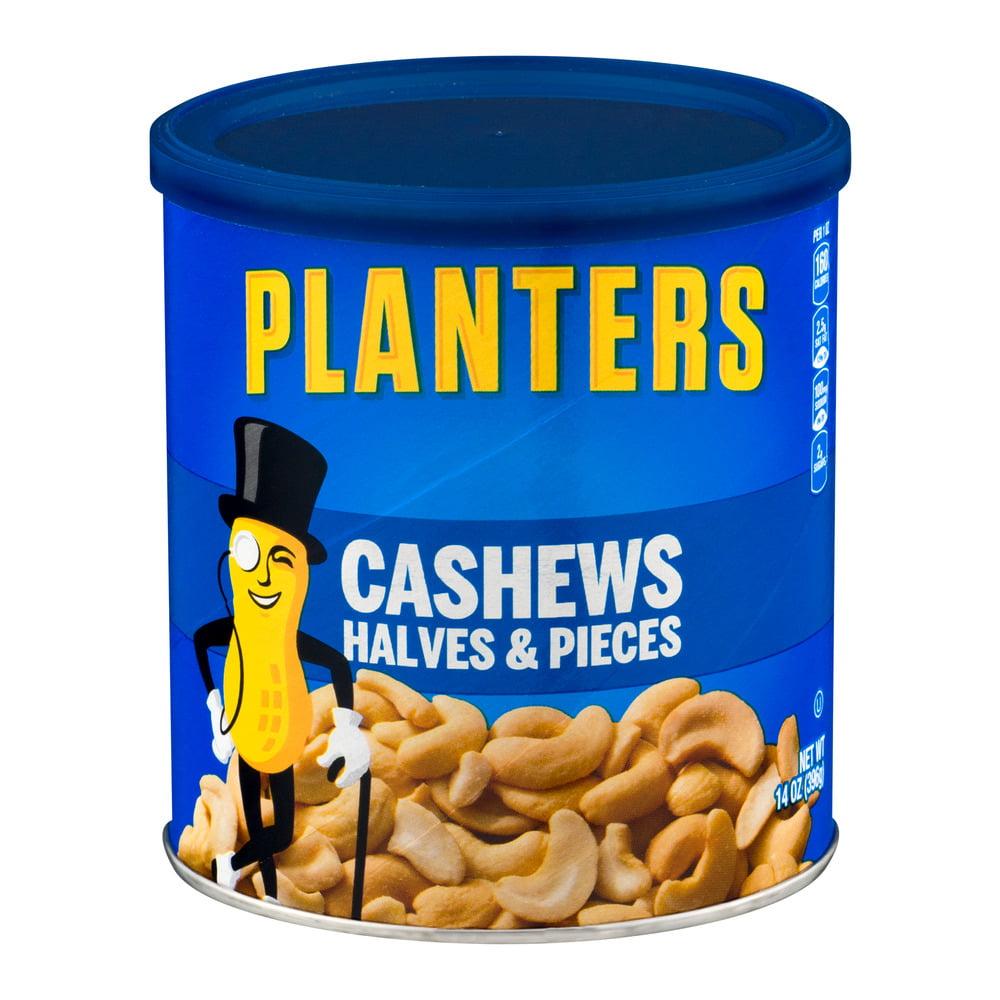 Planters Cashews Halves & Pieces, 14.0 OZ