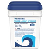 Boardwalk Laundry Detergent Powder, Crisp Clean Scent, 18 lb Pail -BWK340LP