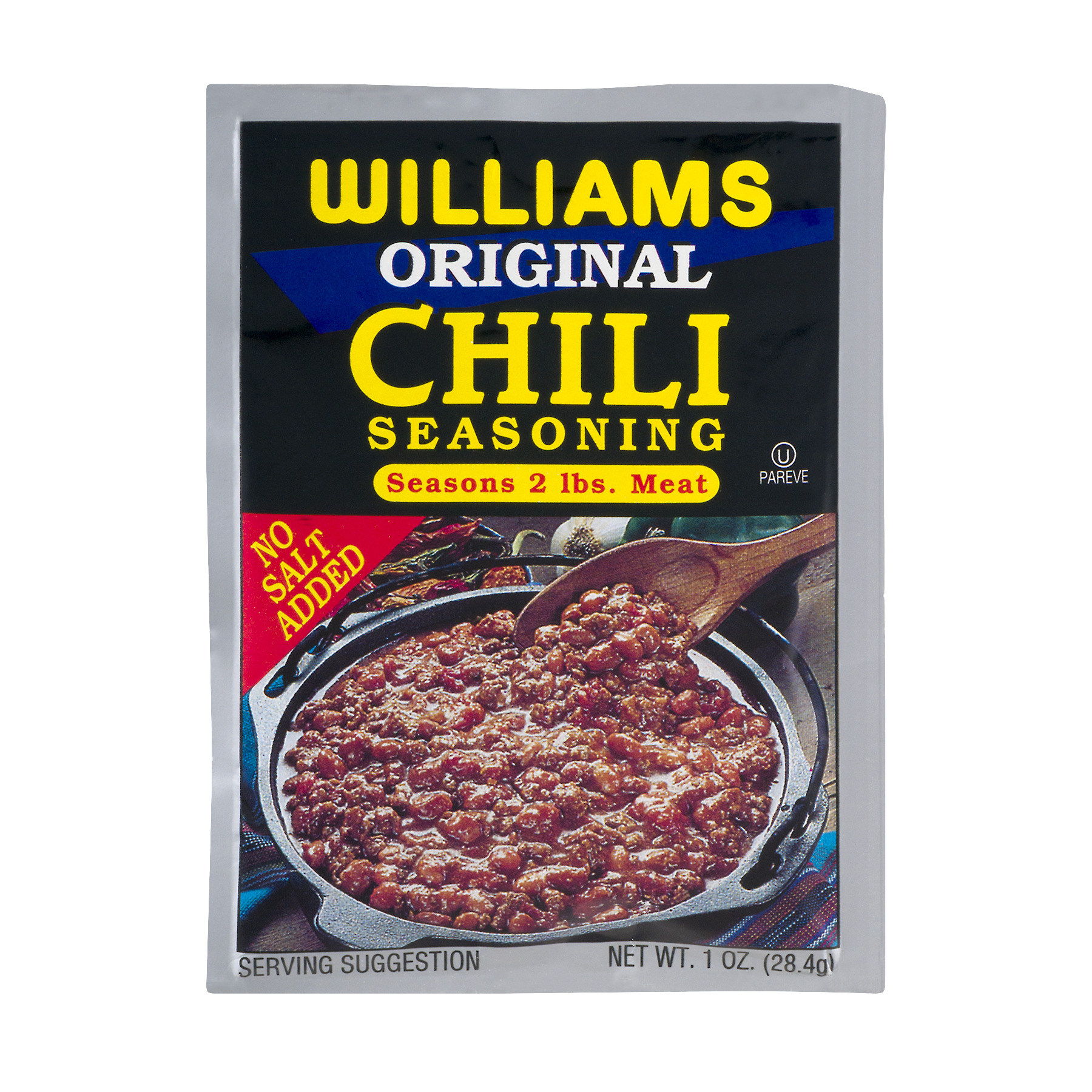 Williams Original Chili Seasoning 1 oz. Packet