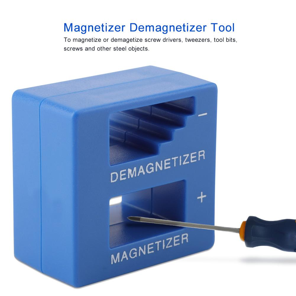 Bits and Small Hand Tools Magnetizer Demagnetizer for Screwdriver Tips