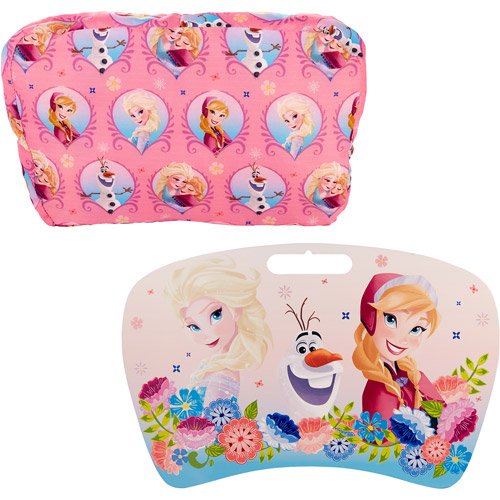 Disneyu0027s Frozen Lap Desk With Removable Pillow, Your Choice Character