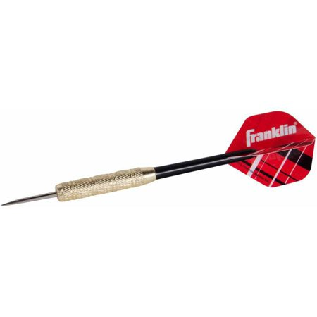 Franklin Sports XS100 Brass-Coated Steel Tip Dart, 18g
