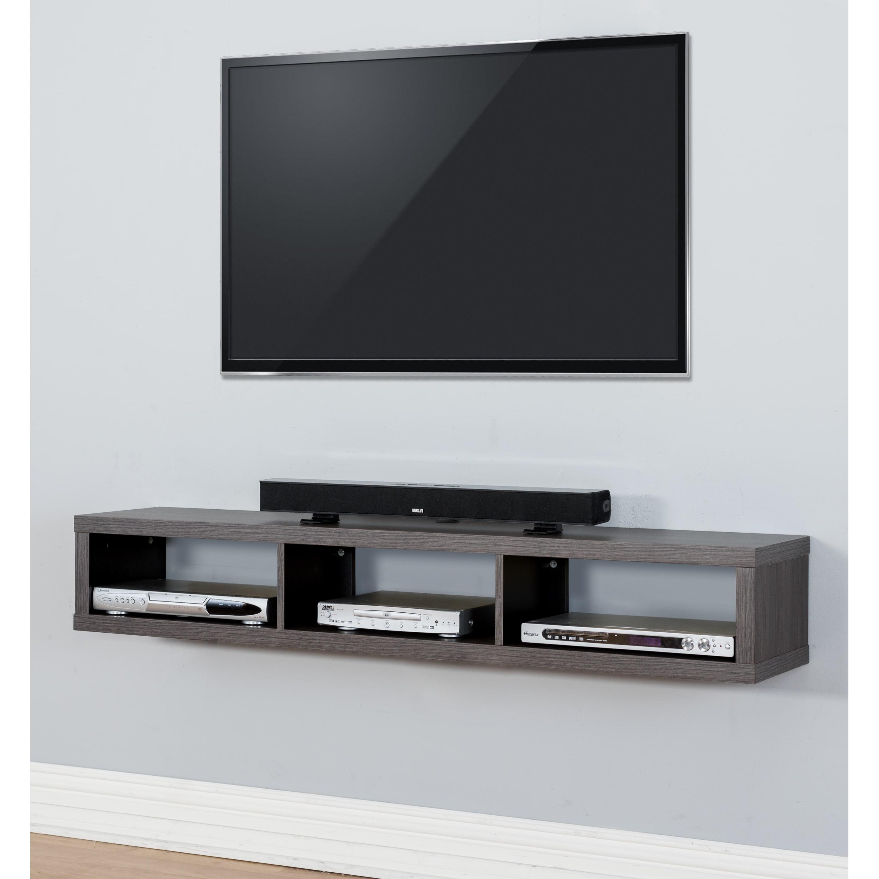 Martin Thin 60-inch Wall Mount TV Console - Walmart.com