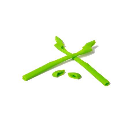 Walleva Green Rubber Kit For Oakley Half Jacket 2.0 XL / Half Jacket 2.0 (Oakley Golf Jacket)