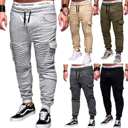Men's Trousers Sweatpants Harem Pants Trouser Casual Joggers Sportwear Baggy