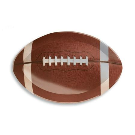 Plastic Football Trays - Creative Converting Plastic Tray, Football