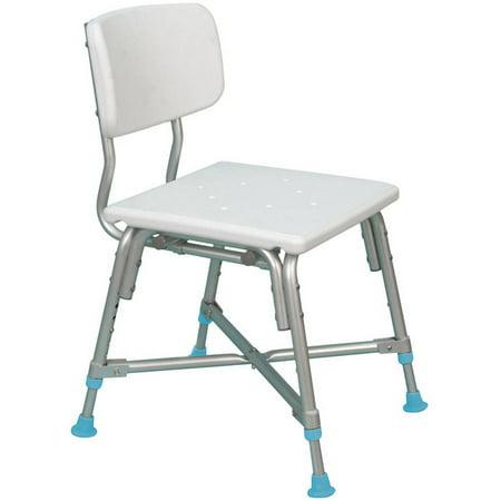 AquaSense Adjustable Bariatric Bath Bench with Non-Slip Seat and ...