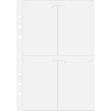 Filofax A5 Business Card Holder B343616 Walmart