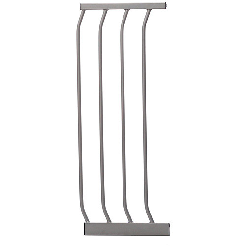"Dreambaby 7"" Extension for Dawson Auto Close Security Gate with Stay Open Feature- Silver Color"