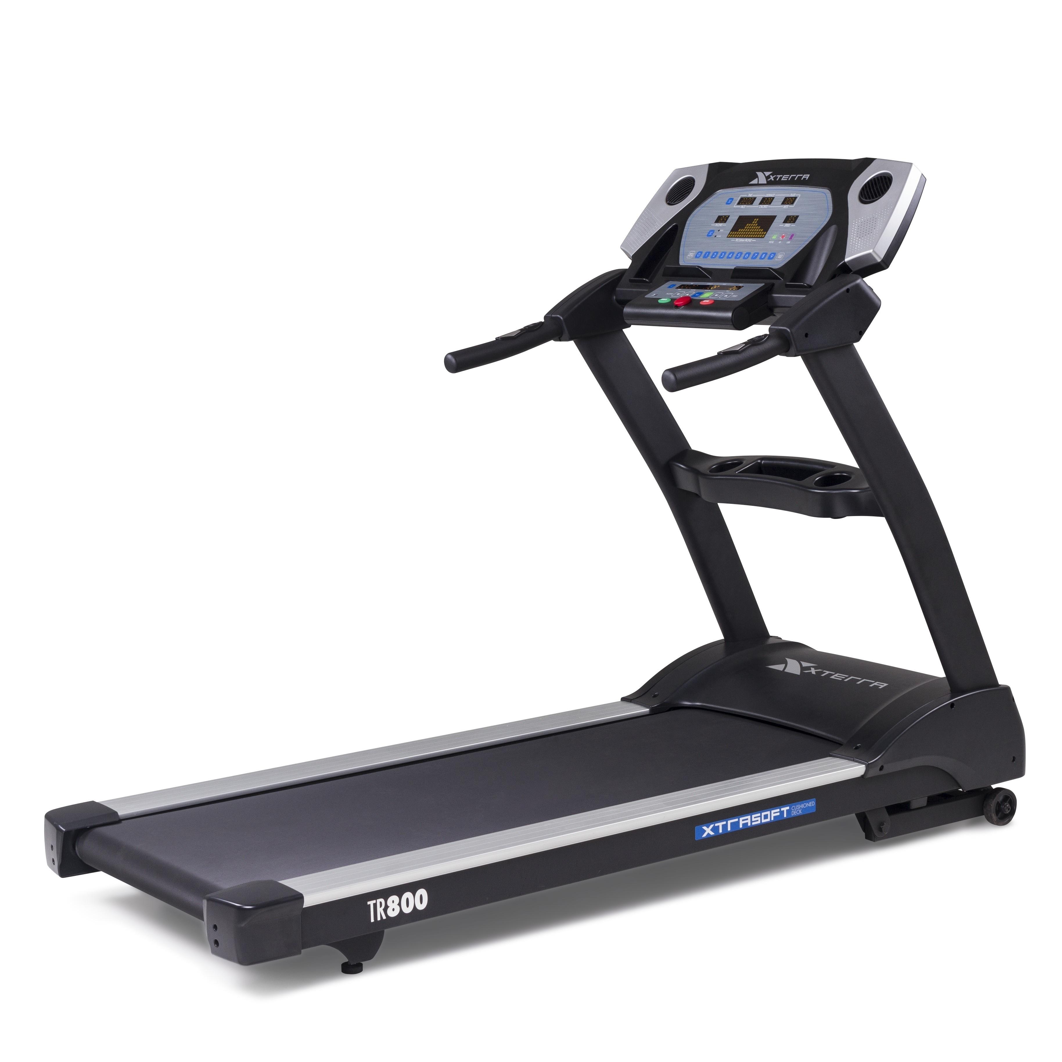 XTERRA Fitness TR800 Folding Treadmill with XTRA Soft Cushioned Deck