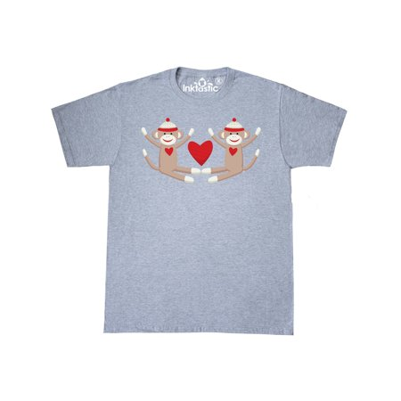 Sock Monkey Twins T-Shirt