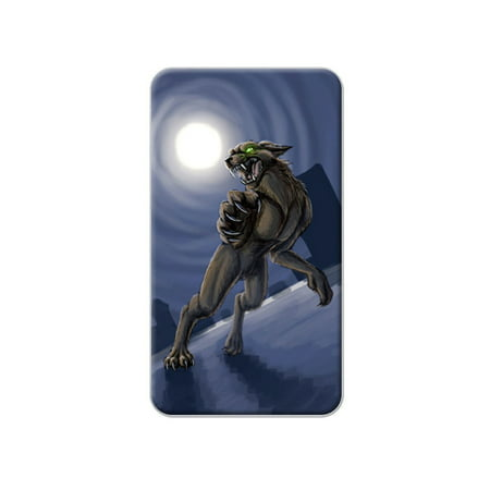 Scary Halloween Clips (Werewolf - Wolf Full Moon Halloween Scary Lapel Hat Pin Tie)
