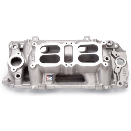 Air Gap Dual Quad Manifold - Edelbrock Manifold Dual Quad RPM Air Gap BB Chevy Oval Port