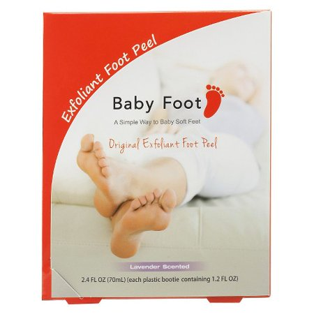 Baby Foot Lavender Easy Pack Exfoliant Foot Peel 1.2 oz
