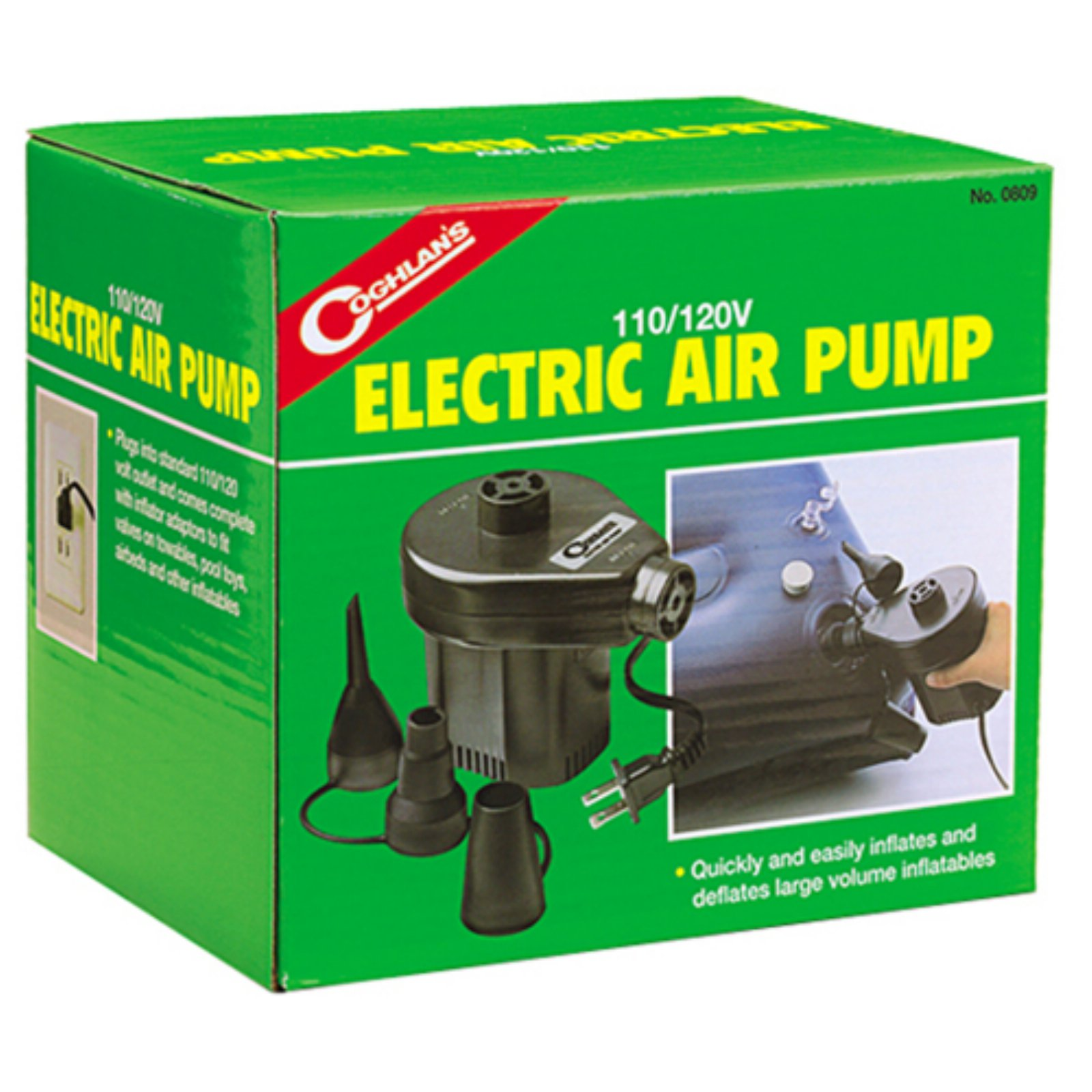 Coghlan's 0809 110 Volt To 120 Volt Electric Air Pump by Coghlan's