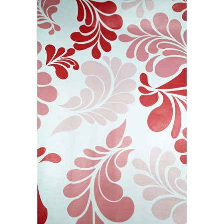 Floral Adhesive (Pink Colored Floral Pattern Adhesive Drawer)
