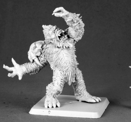 Reaper Miniatures Yeti Chieftain #14589 Icingstead Unpainted RPG D&D Mini Figure