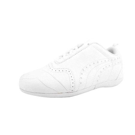 Puma Shoes Sela Diamond Kids/Youth Girls White Sneakers