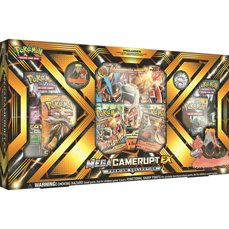 Ex Deoxys Pokemon Card - Pokemon Mega Camerupt-Ex Collection Box