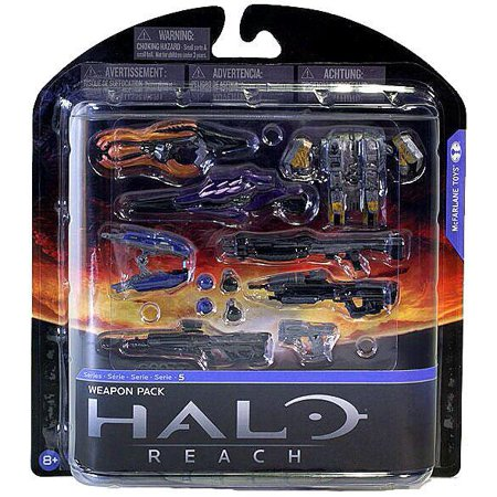 McFarlane Halo Reach Series 5 Weapon Pack (Halo Wars Weapons Pack)