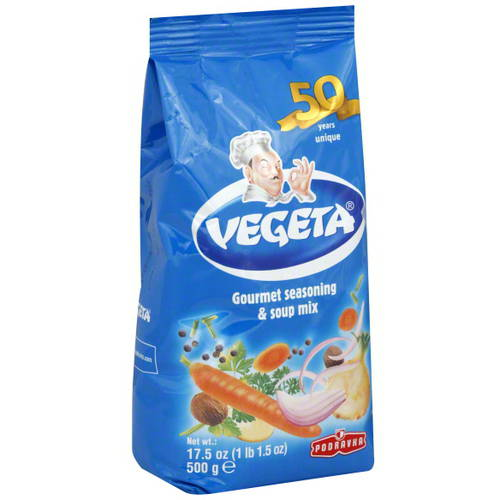 Vegeta Gourmet Seasoning & Soup Mix, 17.5 oz,  (Pack of 12)