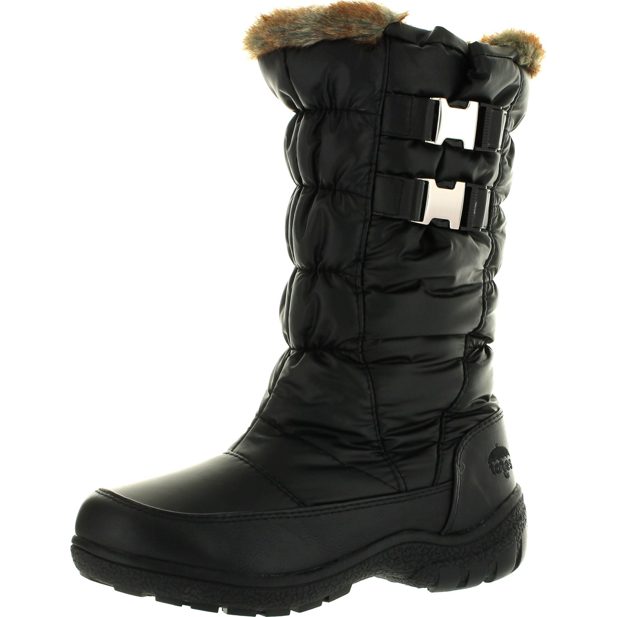 totes womens bunny waterproof winter snow boots walmart