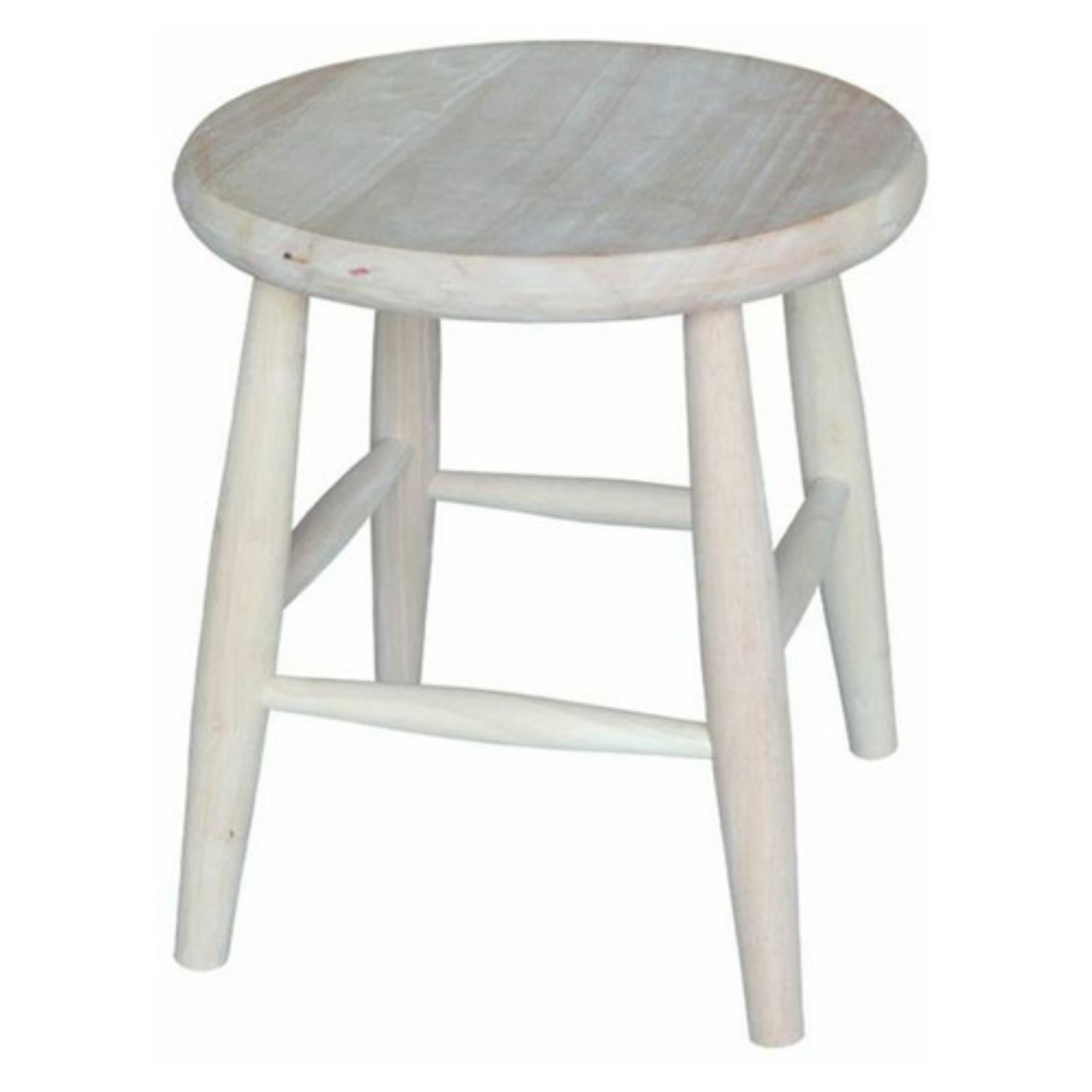 """Scooped Seat Stool - 18"""" Seat Height"""