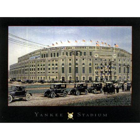 Darryl Strawberry Yankees - Yankee Stadium by Darryl Vlasak 5x7 Poster