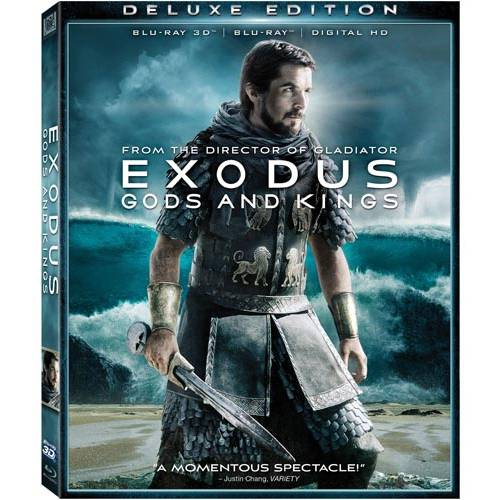 Exodus: Gods And Kings (Deluxe Edition) (Blu-ray 3D + Blu-ray + Digital HD) (With INSTAWATCH) (Widescreen)