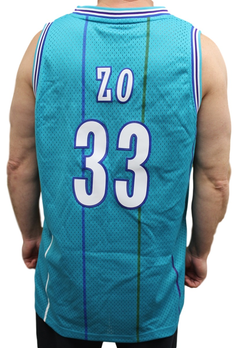 60a118d62cf6 Alonzo Mourning Charlotte Hornets Adidas NBA Throwback