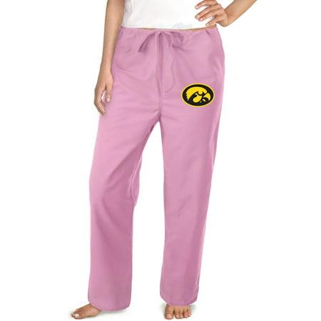 Iowa Hawkeyes Scrub Pants University of Iowa Bottoms for Women