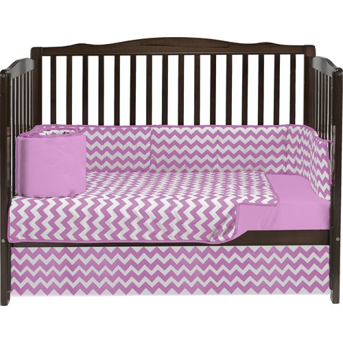 Baby Doll Bedding Chevron 4 Piece Crib Bedding Set by Baby Doll Bedding