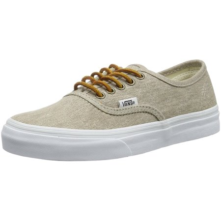 Vans Womens Authentic (Lime in Canvas Low Top Lace Up Fashion Sneakers