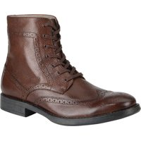Marc New York Baycliff Leather Wing-Tip Boots (Brown or Black)