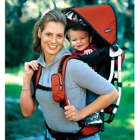 Chicco Backpack Baby Carrier Red