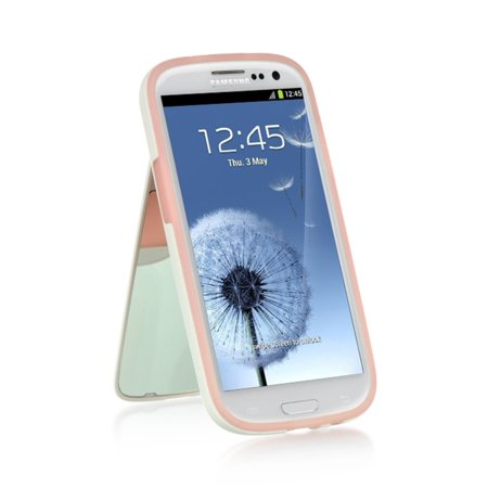 Samsung Galaxy S3 Case, by Insten Stand TPU Rubber Candy Skin Case Cover For Samsung Galaxy S3 GT-i9300 - Samsung S3 Case