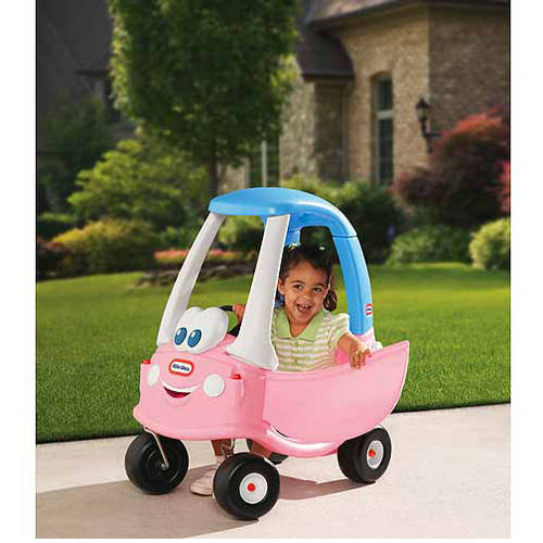 Little Tikes Princess Cozy Coupe Ride-On, Light Pink by Little Tikes