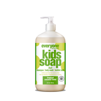 Everyone 3-in-1 Soap for Kids Tropical Coconut Twist 32 oz