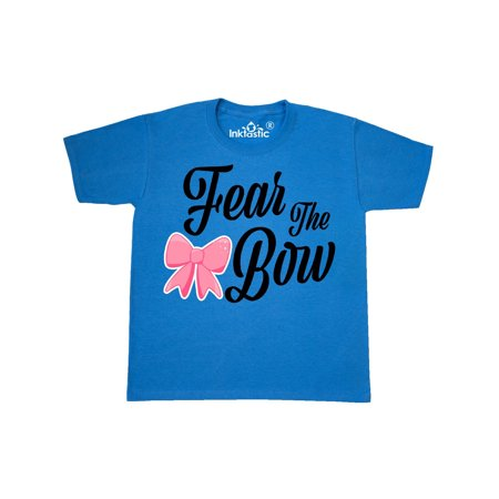 Cheerleading Fear The Bow Youth T-Shirt