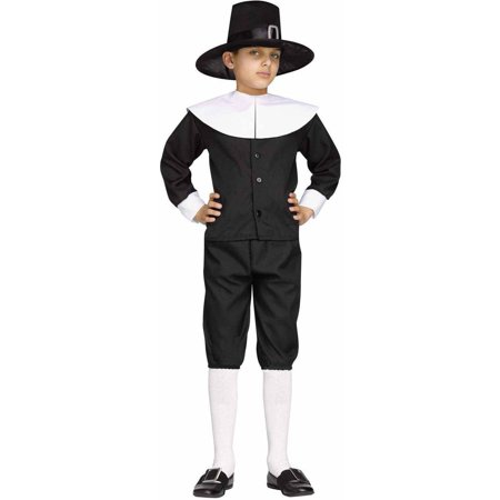 Pilgrim Boy Child Halloween Costume](Pilgrims Costume)