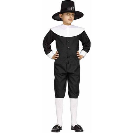 Pilgrim Boy Child Halloween Costume