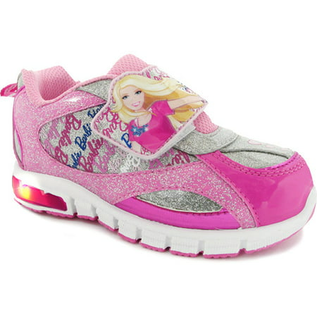 Image of Barbie Toddler Girl's Lighted Cross Trainer