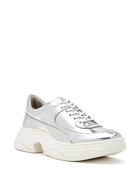 Vandall Metallic Platform Sneakers