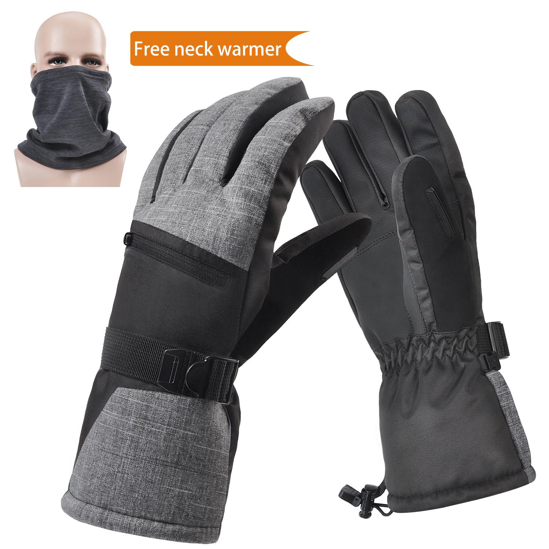 Mens Womens Kids Unisex Winter Sports Insulated Gloves Snow Ski Gloves
