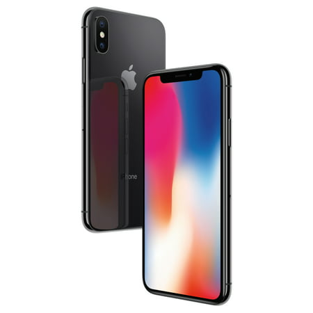 Straight Talk Apple iPhone X, 64GB, Space Gray - Prepaid Smartphone